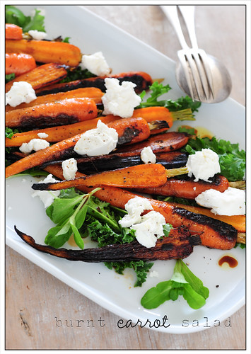 burnt carrot salad | by jules:stonesoup