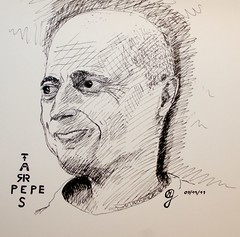 Portrait Pepe Farres by Sketchmanni