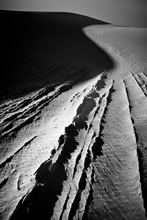 """Lines of White Sands"" 