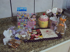 Troquinha Cup Cake by Mari e família arteira!