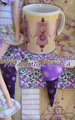 """TROCA PARTICULAR """"TILDA VIOLET"""" by Petra Budag"""