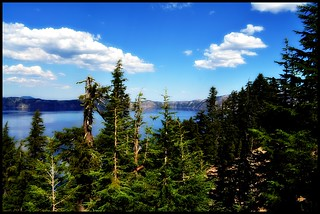 Crater Lake- Behind the Tree View :-) [ Explored #18 :-) ] | by Sruthis Photography