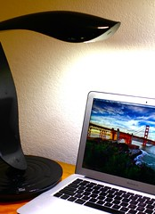 Macbook Air and IMG Lighting Beacon 600