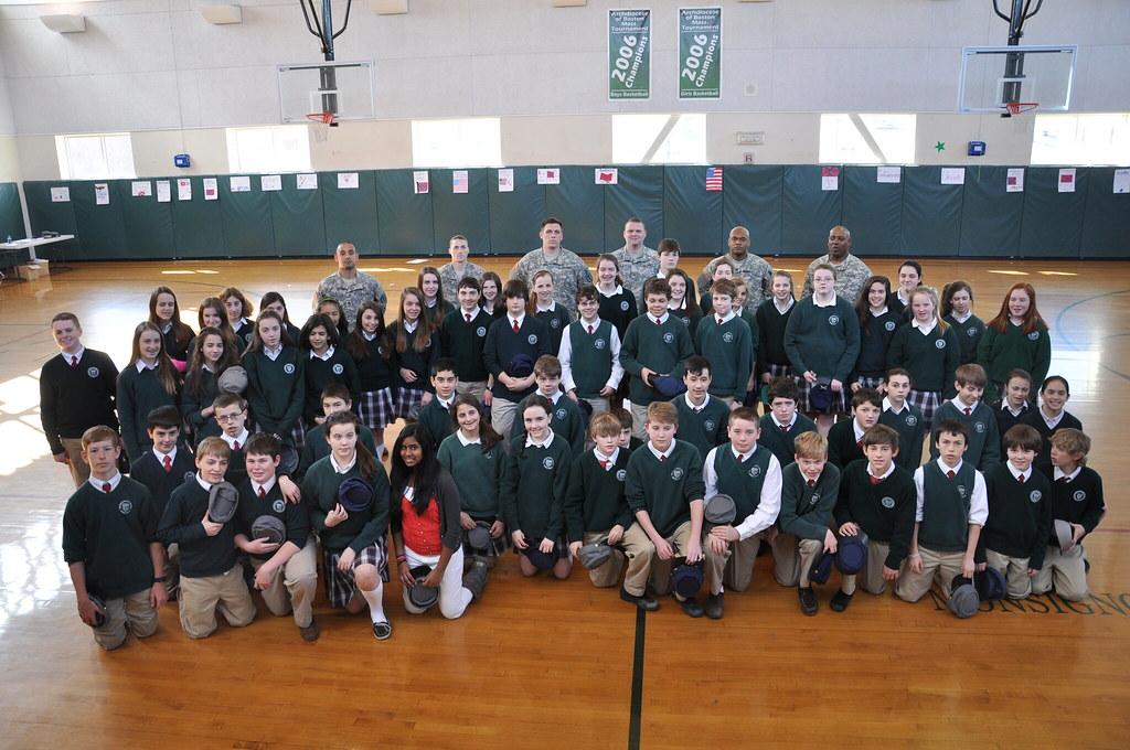 Nssc Visits Monsignor Haddad Middle School In Needham
