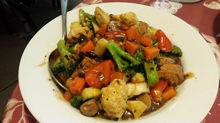 Fried Tofu in Black Bean Sauce from Tian Ran