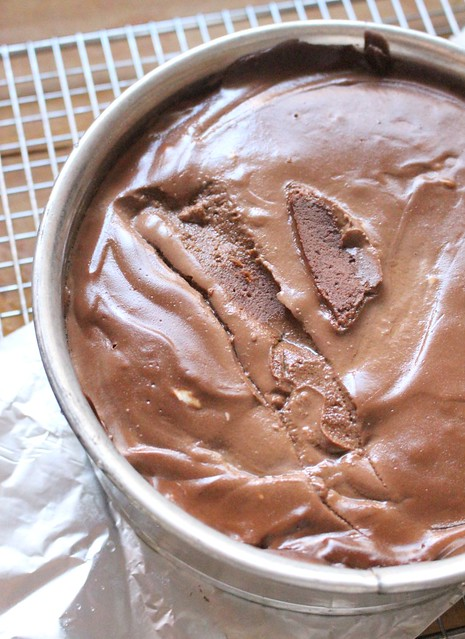 The Great Big Pressure Cooker Book's Chocolate Cheesecake