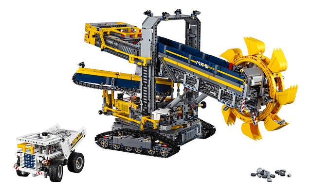 LEGO Technic 42055 Nouveautés LEGO Technic