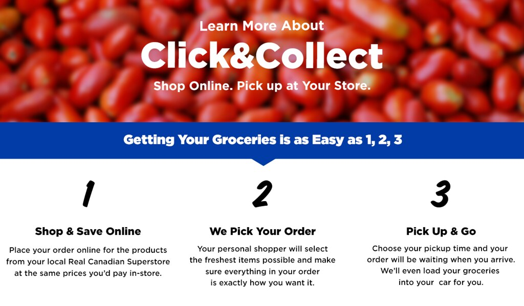 Online Grocery Shopping Now Available at Superstore