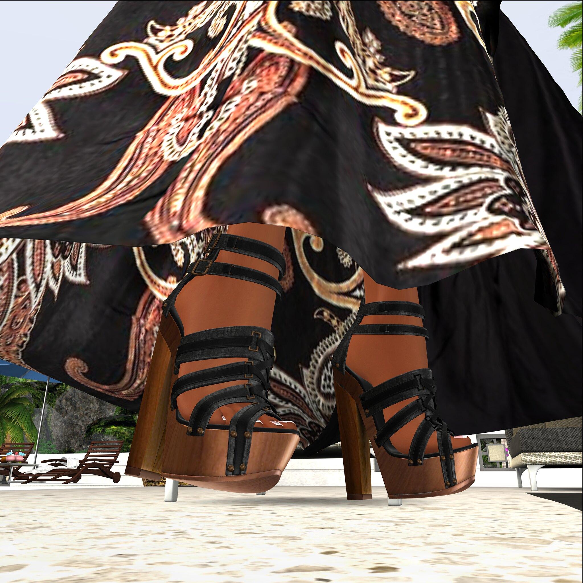 LEGENDAIRE Thea Heels