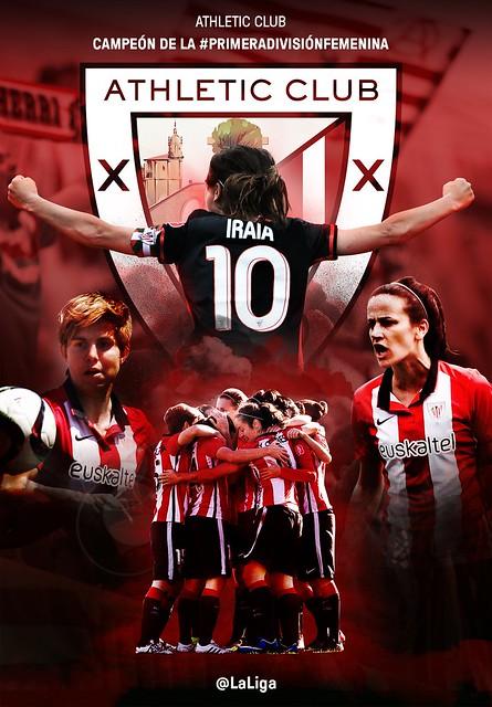Primera División Femenina: El Athletic Club Campeón