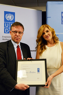 Actress Connie Britton's Appointment as UNDP Goodwill Ambassador | by United Nations Development Programme