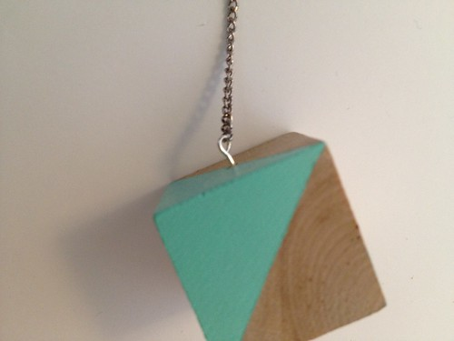 Color Block Necklace | by fabricpaperglue