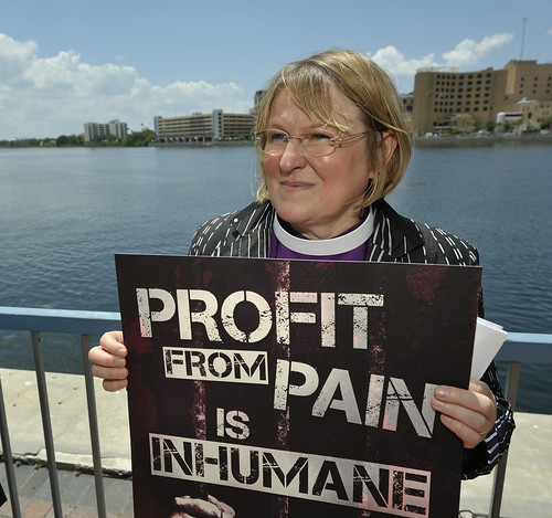 Rally against private prisons at 2012 United Methodist General Conference | by United Methodist News Service