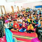 Five day residential camp for children at solapur