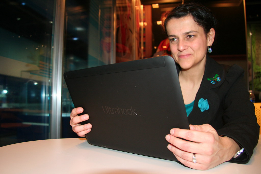 Prototype Ultrabook with Touchscreen