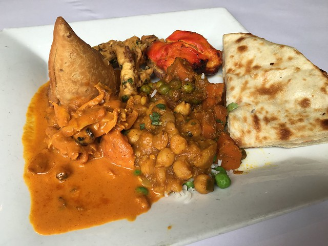 Lunch buffet - North India