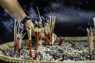 Incense offering | by thetimgilbert