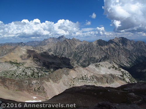 More views to the north from Table Mountain, Jedediah Smith Wilderness & Grand Teton National Park, Wyoming