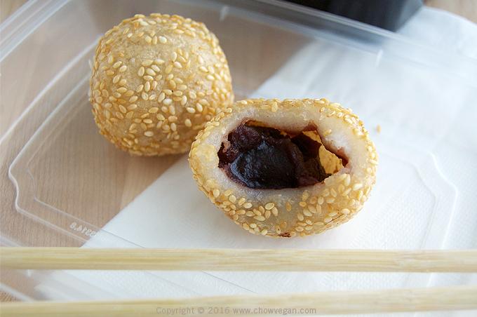 Vegan Dim Sum Sesame Balls