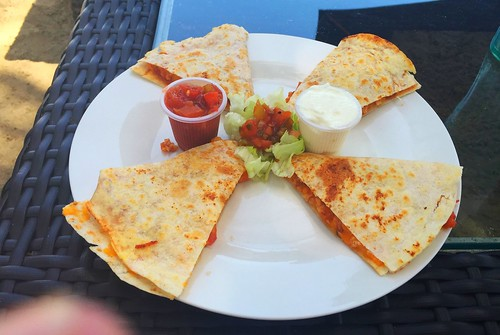 Chicken Quesadilla - Caberte Beach