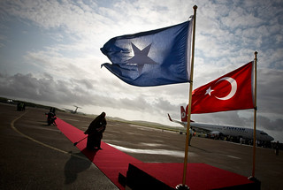 Turkish Prime Minister Makes Official Visit to Somalia | by United Nations Photo