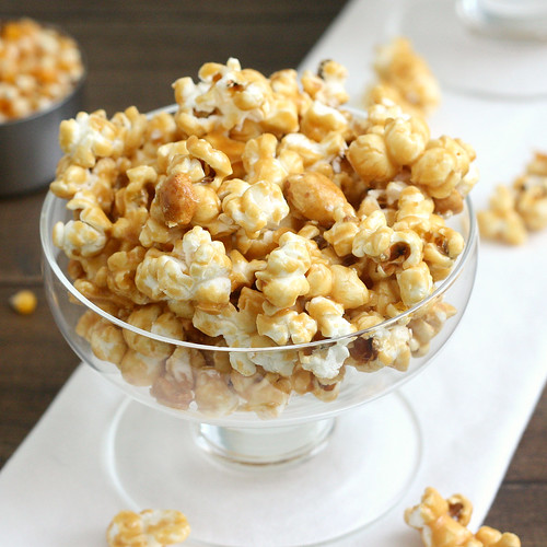Tequila-Spiked Caramel Corn | by Tracey's Culinary Adventures