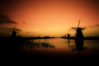 Sunset Kinderdijk Holland | by Kees Smans