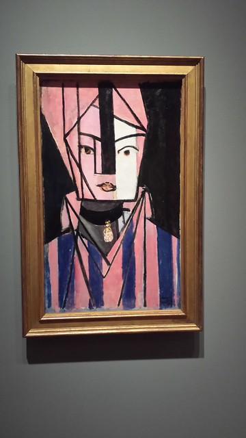 White and Pink Head - Matisse