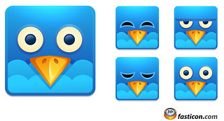 Twitter Square Icons | by Fast_Icon