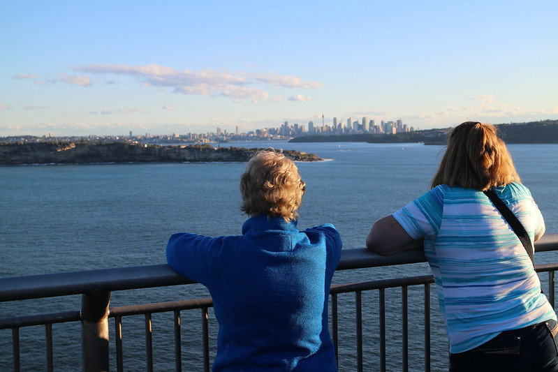 Sydney with Carolyn and Mum