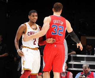Kyrie greets Blake (Rising Stars NBA-AllStar Weekend) | by Cavs History