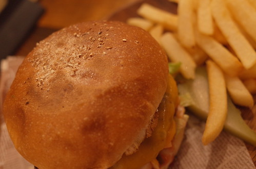 BALINESE CHEESE BURGER