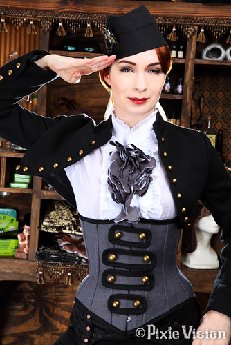 Steamship Captain #3 | by felicia.day