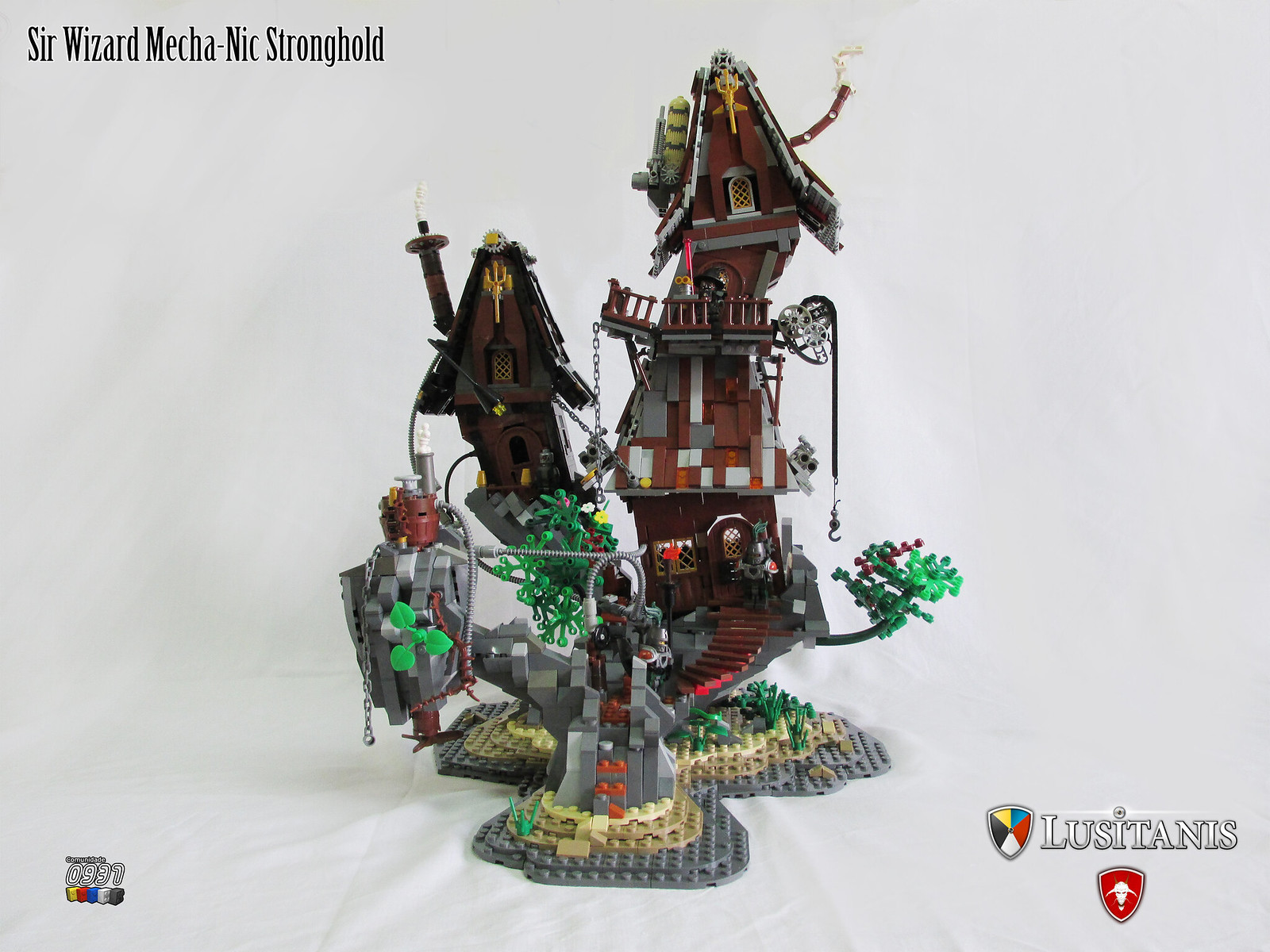 Sir Wizard Mecha-Nic Stronghold 01