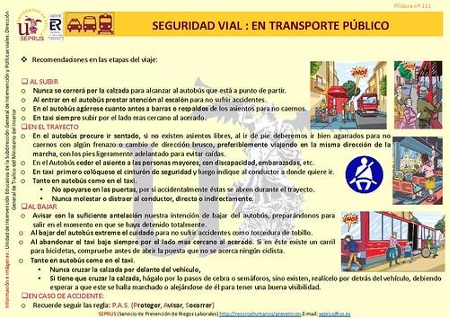 Píldora de Normas de cumplimiento en transporte público