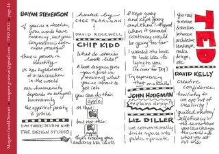 TED 2012 sketch notes - page 14 | by margaretgouldstewart