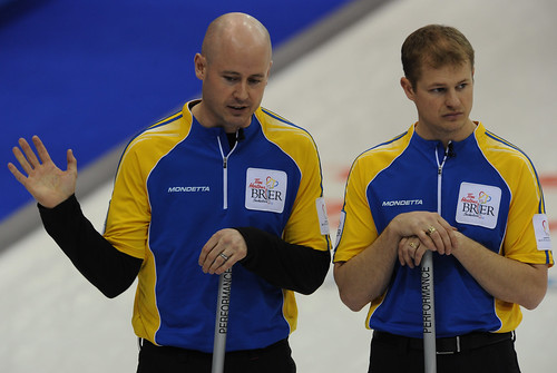 Kevin Koe and Carter Rycroft | by seasonofchampions
