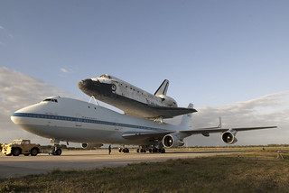Discovery Mated To Shuttle Carrier Aircraft (KSC-2012-2292) | by NASA HQ PHOTO