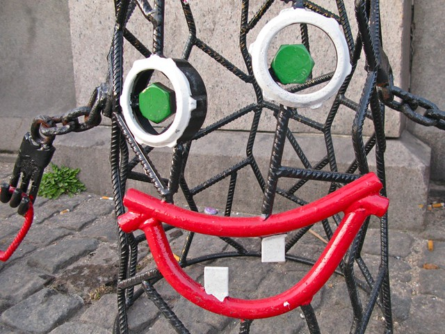 Return of the happy street art chairs