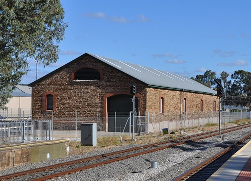 Gawler Goods Shed rail side