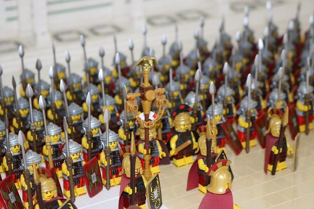 The Eagle - LEGO Romains