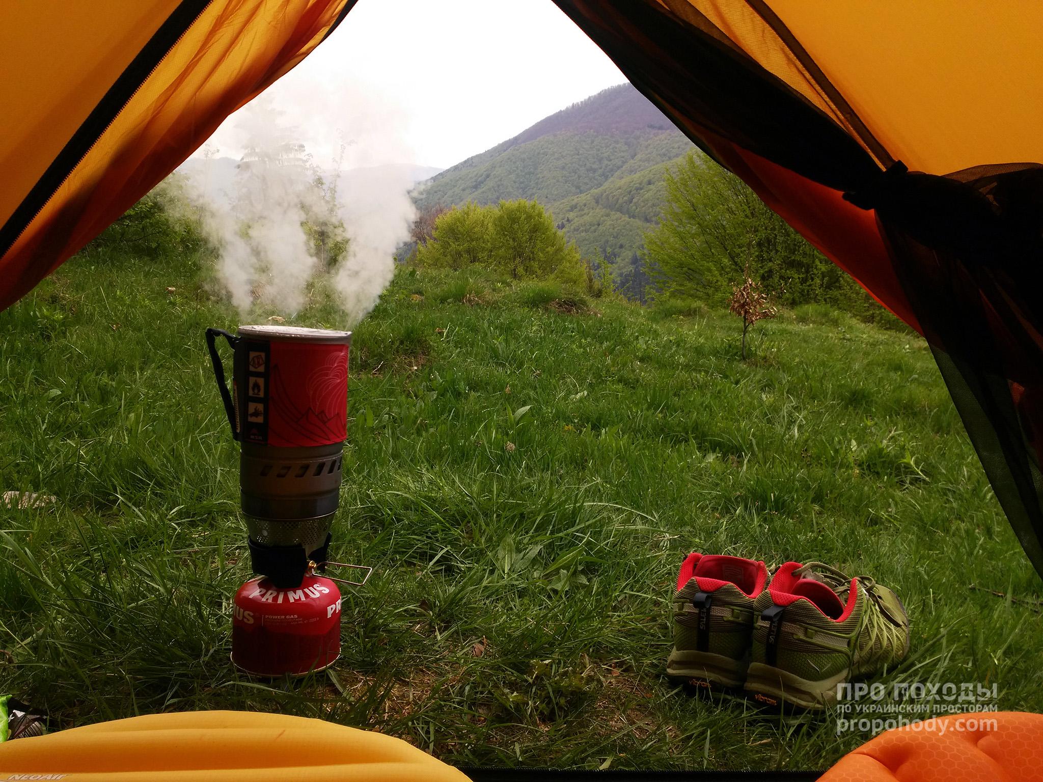 MSR Windburner. Ранкова кава
