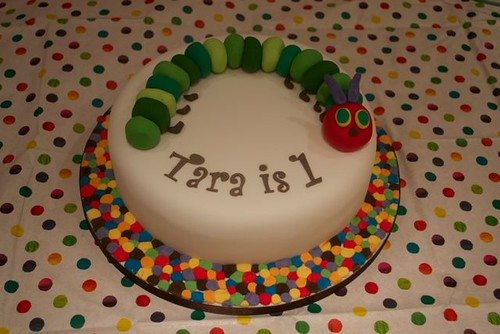 Very Hungry Caterpillar Cake | by Casa Costello