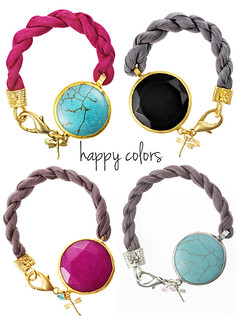 summer bracelets | by the style files
