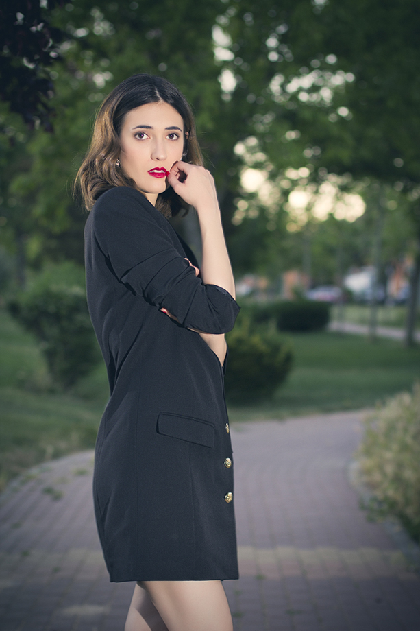 THE BLAZER DRESS
