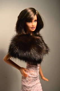 Laura in Mink Cape | by Barbie and Kleo
