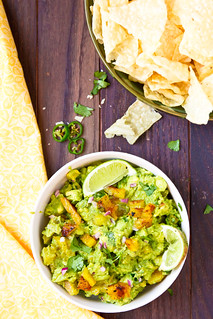 Guacamole with Grilled Pineapple | by TheBrewer&TheBaker