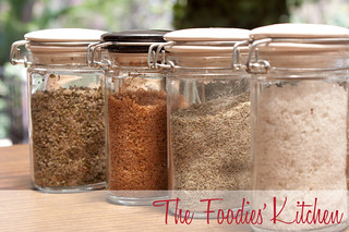 Mother's Day Gift Idea: Seasoning Salts and Vanilla Sugar | by twofoodies