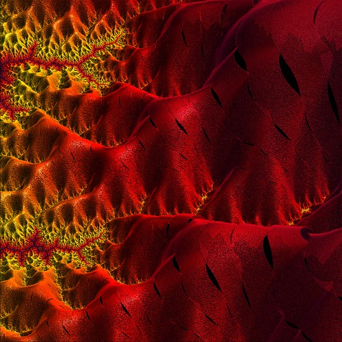 A Mandelbrot and this time I got color, red hot :) | by freetoglow