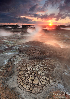 Cracked Ground - Gunnhver geothermal areas at Reykjanes, Iceland | by orvaratli